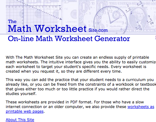 Great and quick math worksheets with answer keys – The Math Worksheet