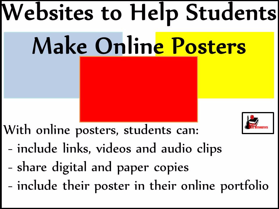 Websites To Create Online Posters With Your Students