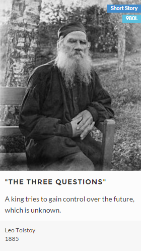 theme the three questions