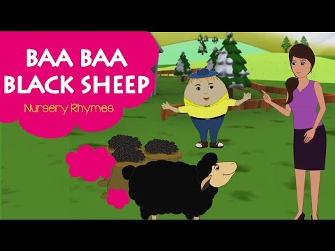 Baa Baa Black Sheep Kids Songs | Popular Nursery Rhymes