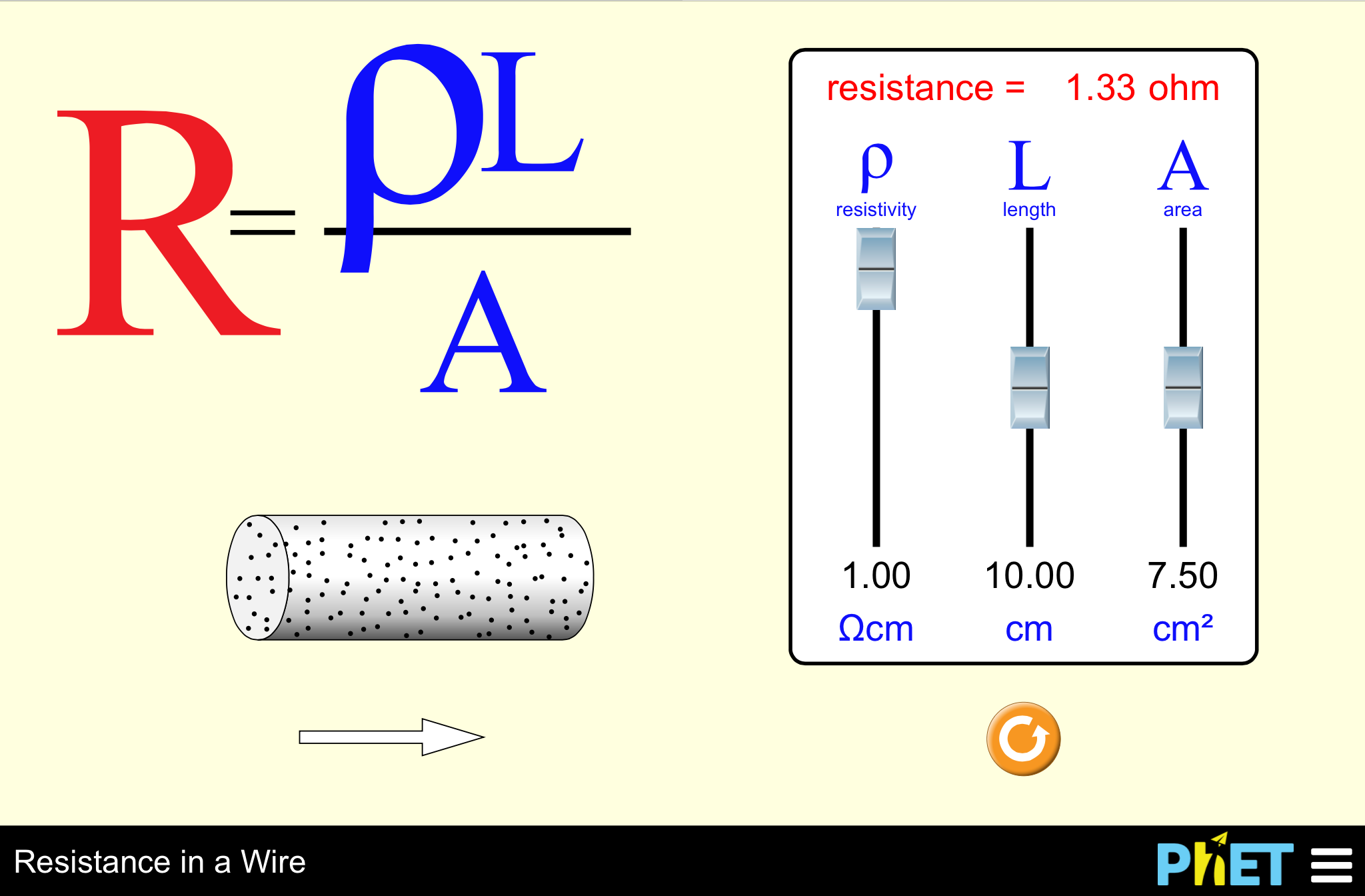 resistance wire experiment coursework Episode 112: resistivity in this episode, students learn how and why the resistance of a wire depends on the wire's dimensions they learn the definition of resistivity and use it in calculations.
