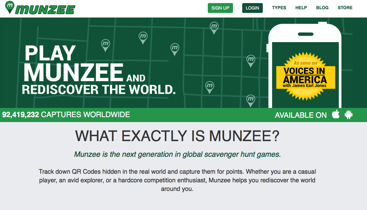 Play Munzee!