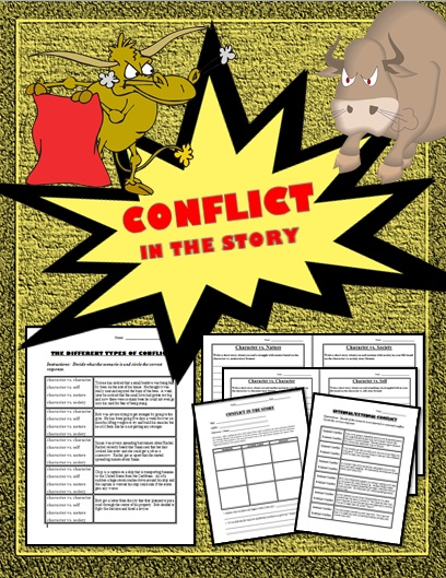 what is conflict internal and external
