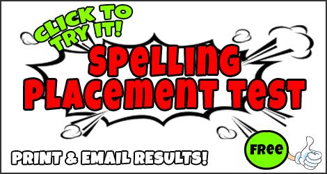 photo relating to Free Printable Placement Test named Cost-free On the web OR Printable Spelling Position Attempt
