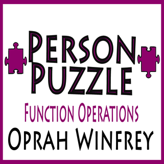 person puzzle function operations   oprah winfrey worksheet