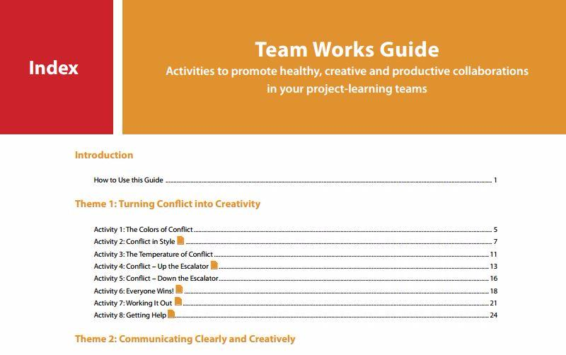 Team Works: A Teacher's Guide to Student Collaboration