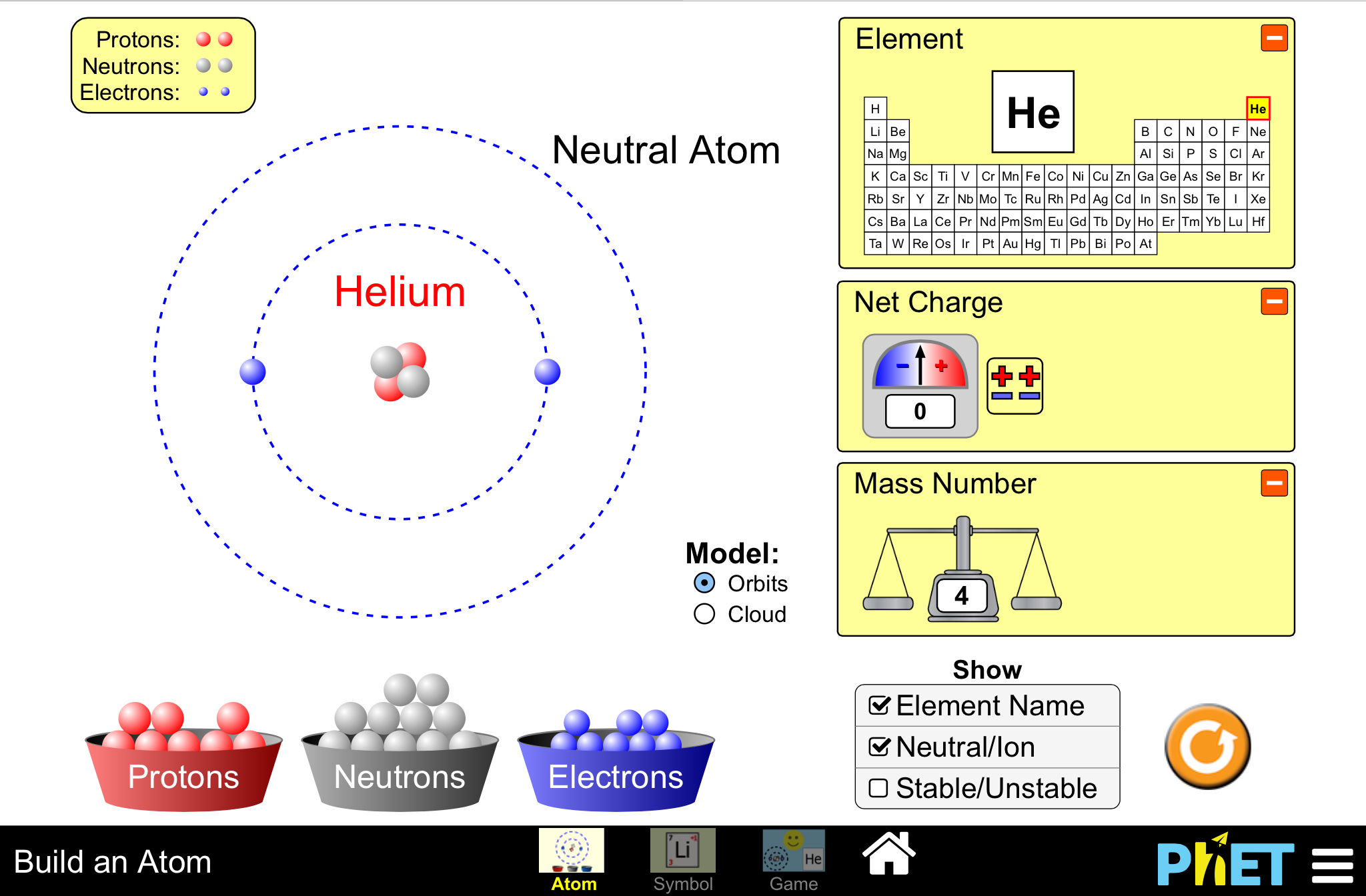 Alien periodic table adobe reader fillable build an atom out of protons neutrons and electrons and s gamestrikefo Image collections