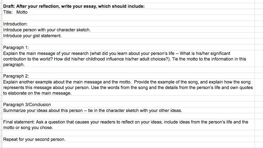 special person in my life essay