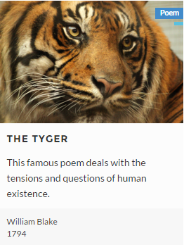 tyger tyger analysis