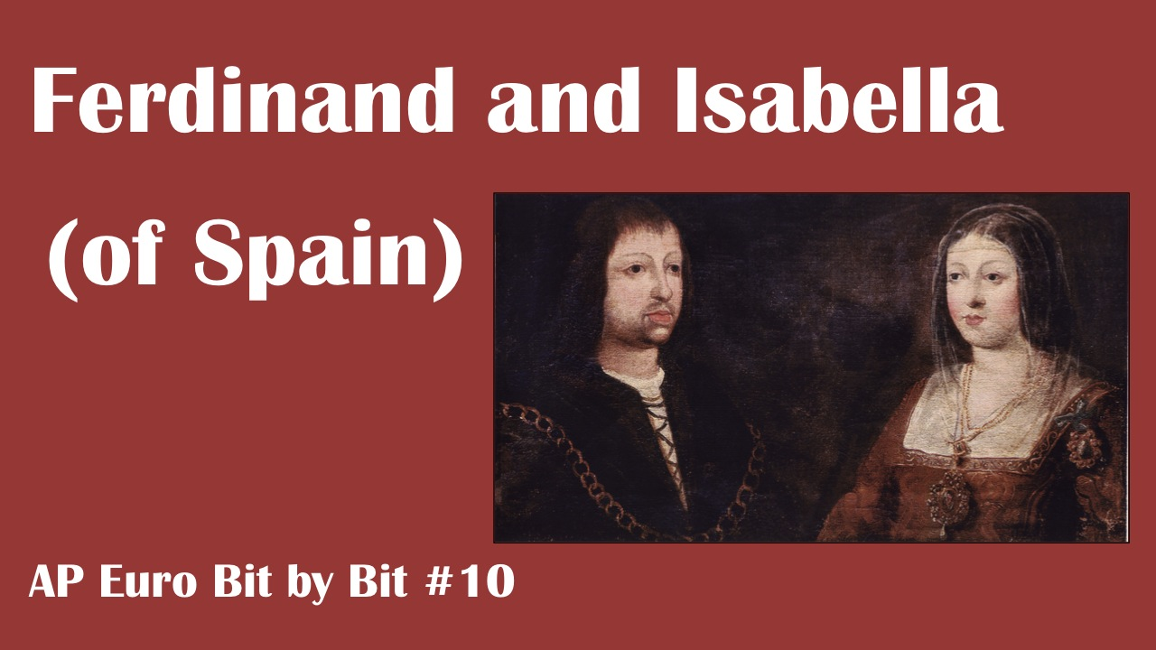 personal opinion on isabella and ferdinands rule in 15th century spain