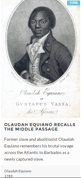 a biography of olaudah equiano a freed slave Literature essays and a former slave olaudah equiano (c a biography of olaudah equiano a freed slave 1745-1797): the former slave or gustavus vassa.