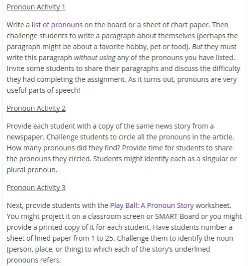 Pronoun Identification Worksheet - The Best and Most Comprehensive ...